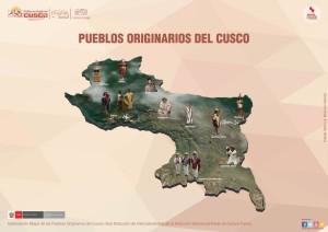 Karte Sprachen Cusco