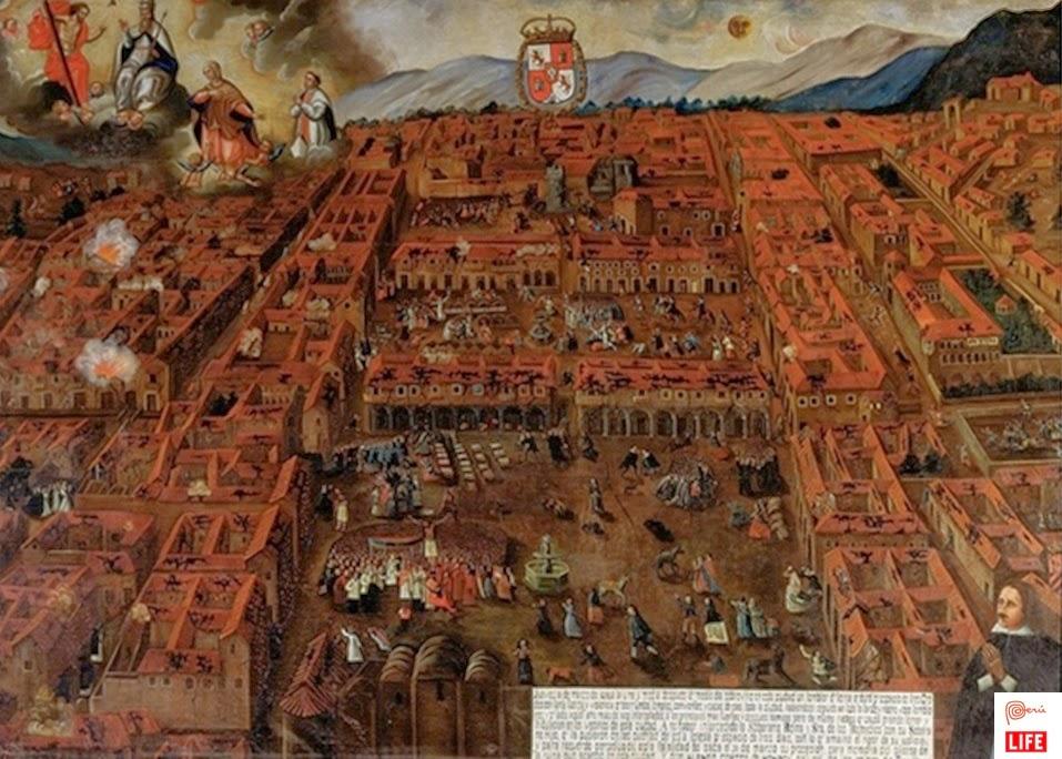 Erdbeben Cusco 1650