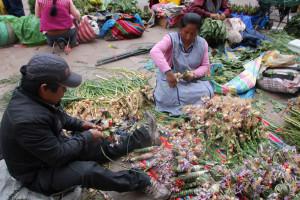 Palmwedelherstellung